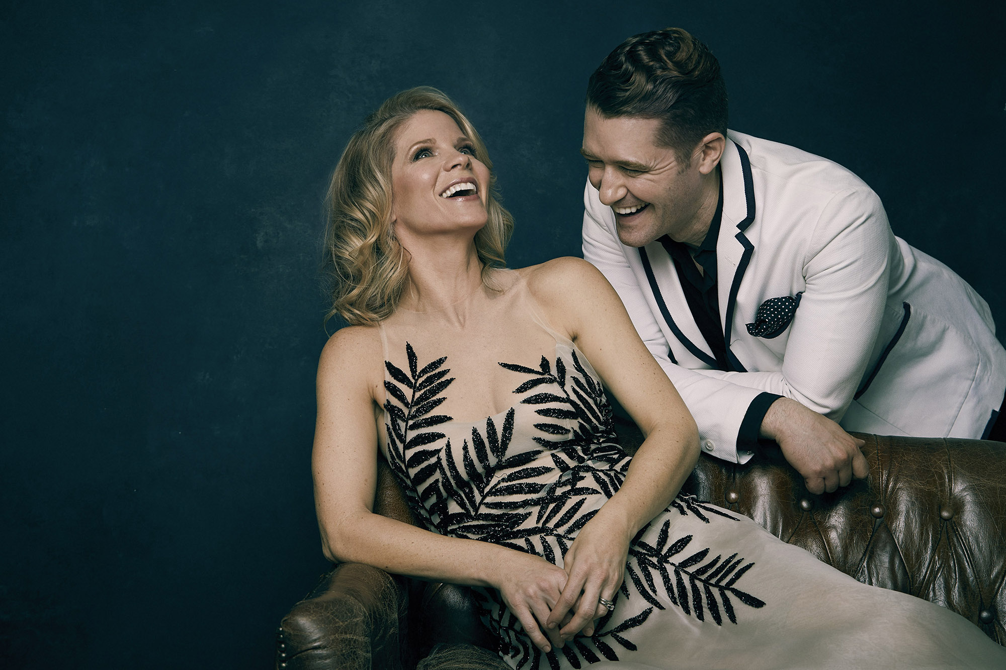 Kelli O'Hara and Matthew Morrison